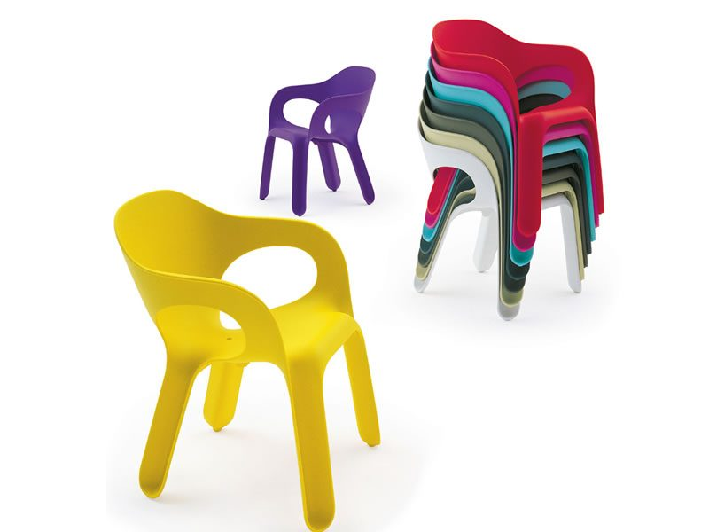 Easy chair sedia con braccioli for Magis easy chair