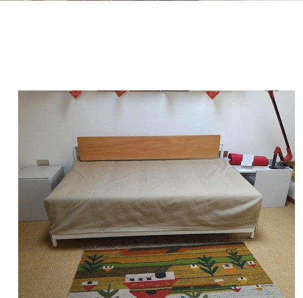 Trolley divano letto 159 c in tessuto tortora a 332 materasso sfoderabile a cuffia senza cuscini - Divano letto senza materasso ...