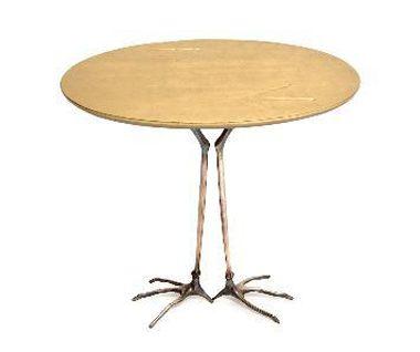 Tavolino Con Zampe Di Gallina.Traccia Oppenheim Simon