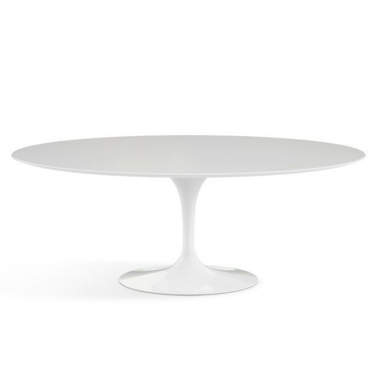 Tavolo Saarinen ovale laminato Knoll