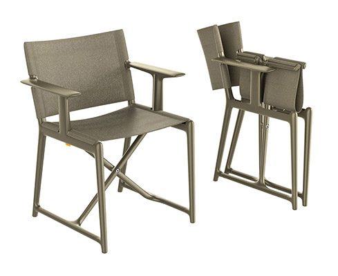 Stanley sedia regista da esterno starck x magis for Sedia design regista
