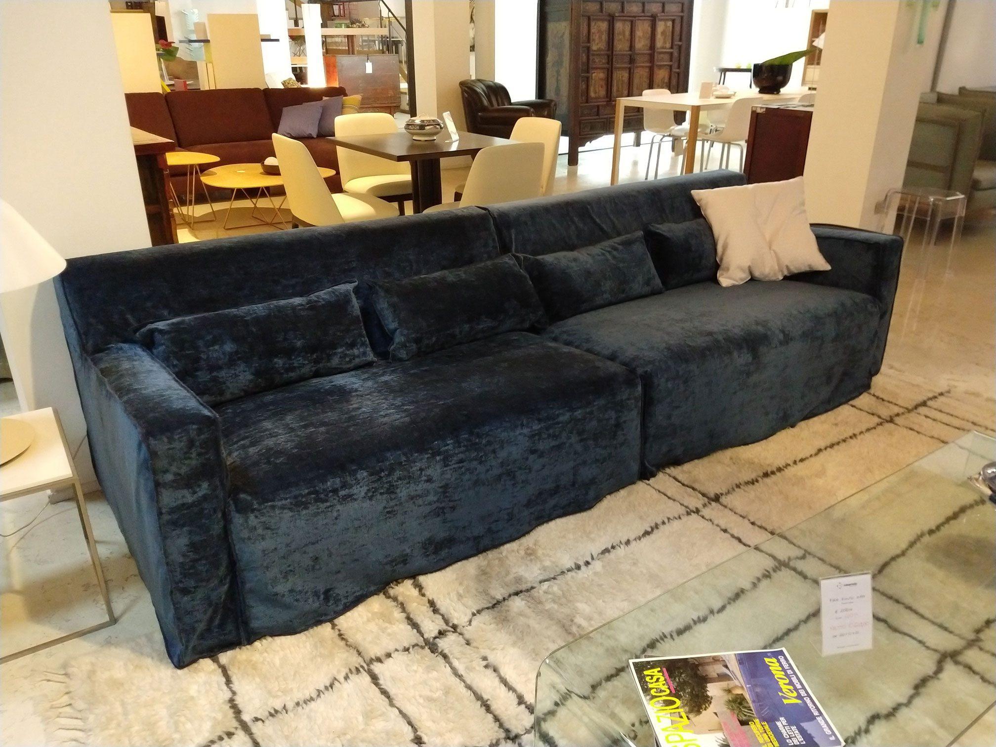 Divano In Lino Bianco : More divano cm.260 tessuto poseidone 2° rivestimento lino bianco